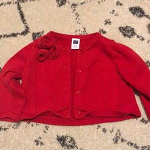 Janie and Jack red sweater